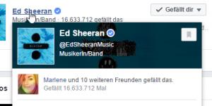 Erfolg bei Facebook: 16.633.712 Fans oder geht auch weniger?
