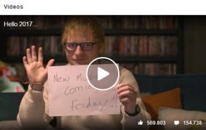 Fannah - nicht nur bei Facebook: Ed Sheeran