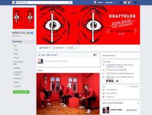Facebook für Musiker und Bands: Kraftklub machen es vor!