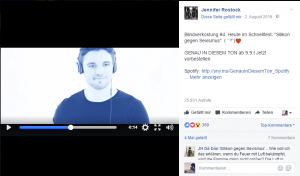 Bildverkostung auf FAcebook im Rahmen der Albumpromotion von Jennifer Rostock