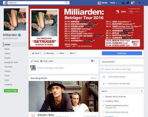 Facebook-Seite-Milliarden