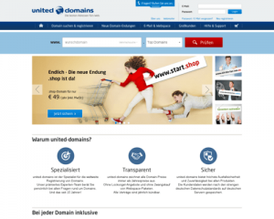 Band-Domain bei United Domains