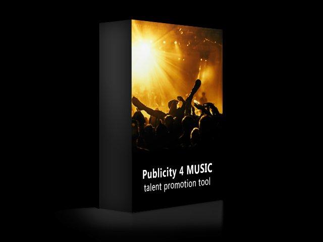 Publicity 4 MUSIC - Der digitale Musikpromoter