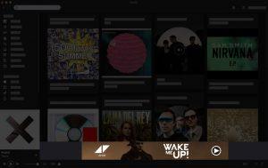 display werbung auf Spotify für Bands