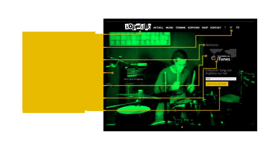 band-homepage-erstellen-aufbau