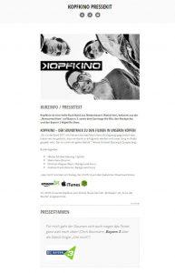 Wichtig beim Booking: Ein digitales Pressekit