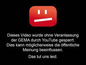 YouTube gegen die GEMA