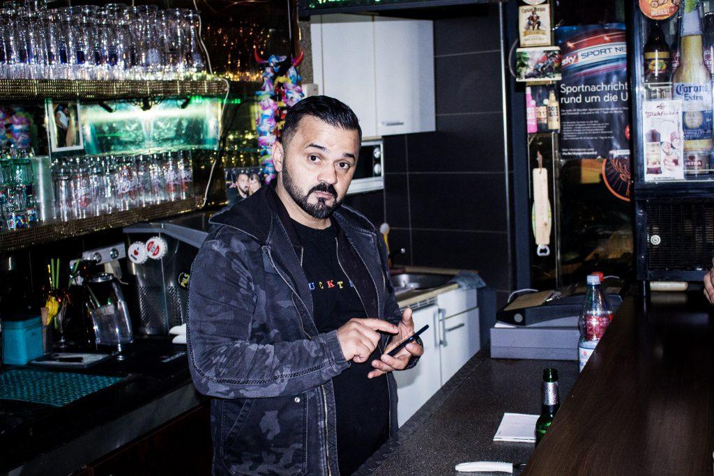 Ismail Cindilkaya, Inhaber der Charisma Bar in Pfarrkirchen