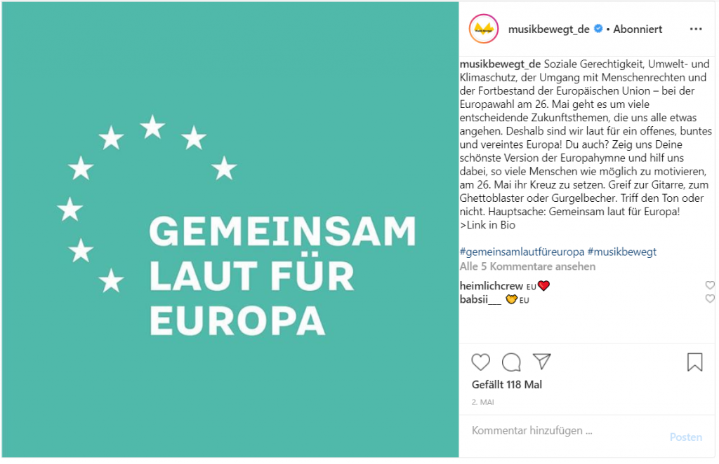 musikbewegt_de zur Europowahl 2019